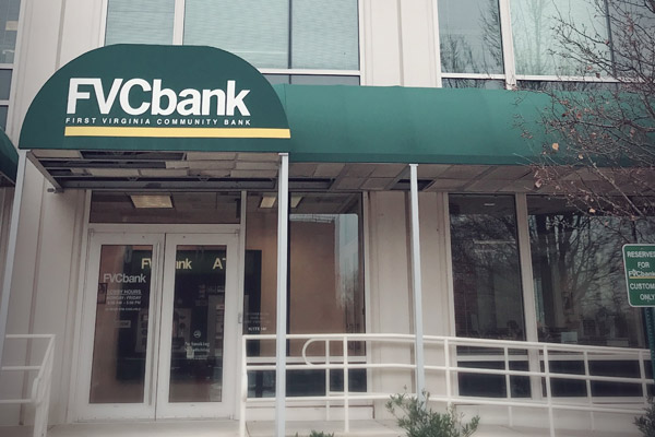 FVCbank Fairfax, VA headquarters