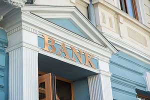 a bank branch that offers business banking services